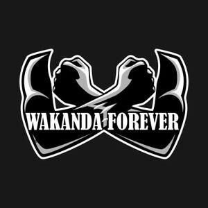 Details about BLACK PANTHER MAGNET WAKANDA FOREVER KING MARVEL AVENGERS  ERIK KILLMONGER QUOTE.