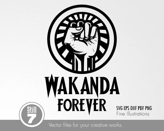 Wakanda Forever Emblem.