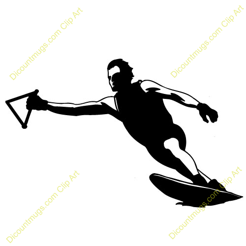 Wakeboard Clipart.