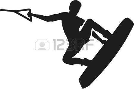 319 Wakeboarding Stock Vector Illustration And Royalty Free.