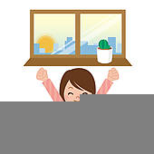 Clipart Of A Person Waking Up.