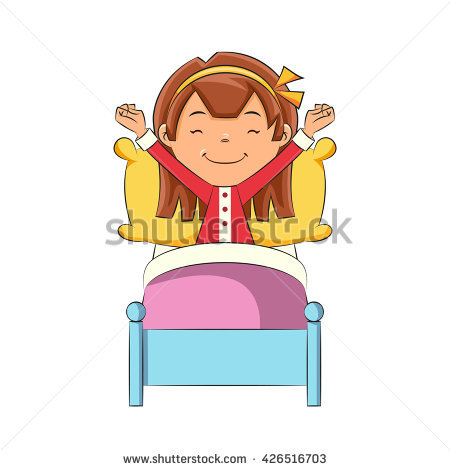Wake Up Stretch Stock Vectors, Images & Vector Art.