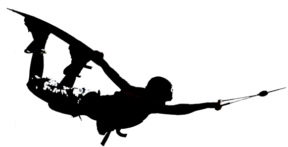 Wakeboard Clipart Silhouette.