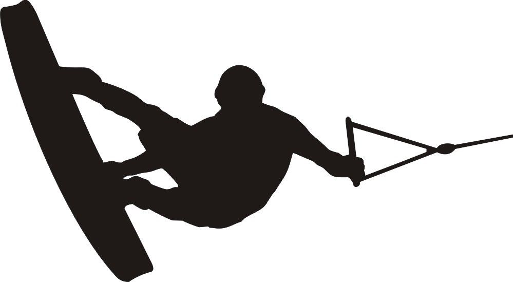 Wakeboard Clipart L.