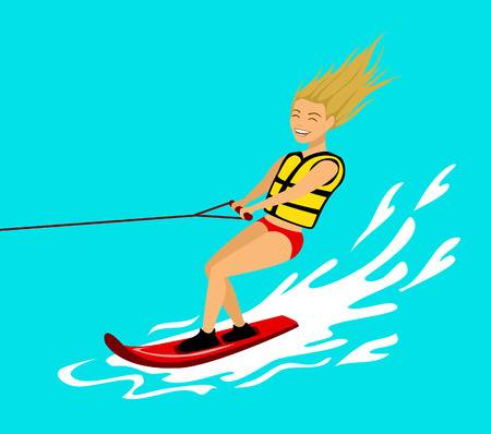 455 Wakeboard Stock Vector Illustration And Royalty Free Wakeboard.