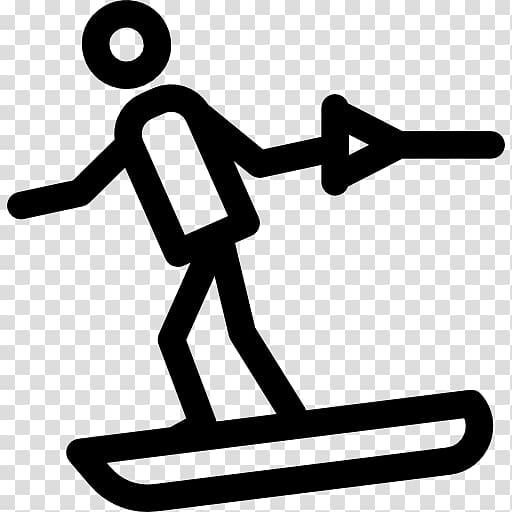 Water Skiing Winter sport Wakeboarding, skiing transparent.