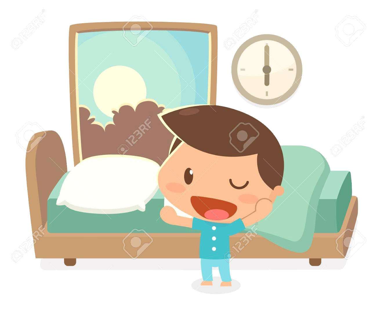 Clipart wake up 4 » Clipart Station.