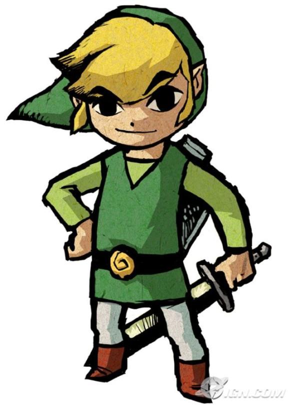 Zelda Link Clipart.