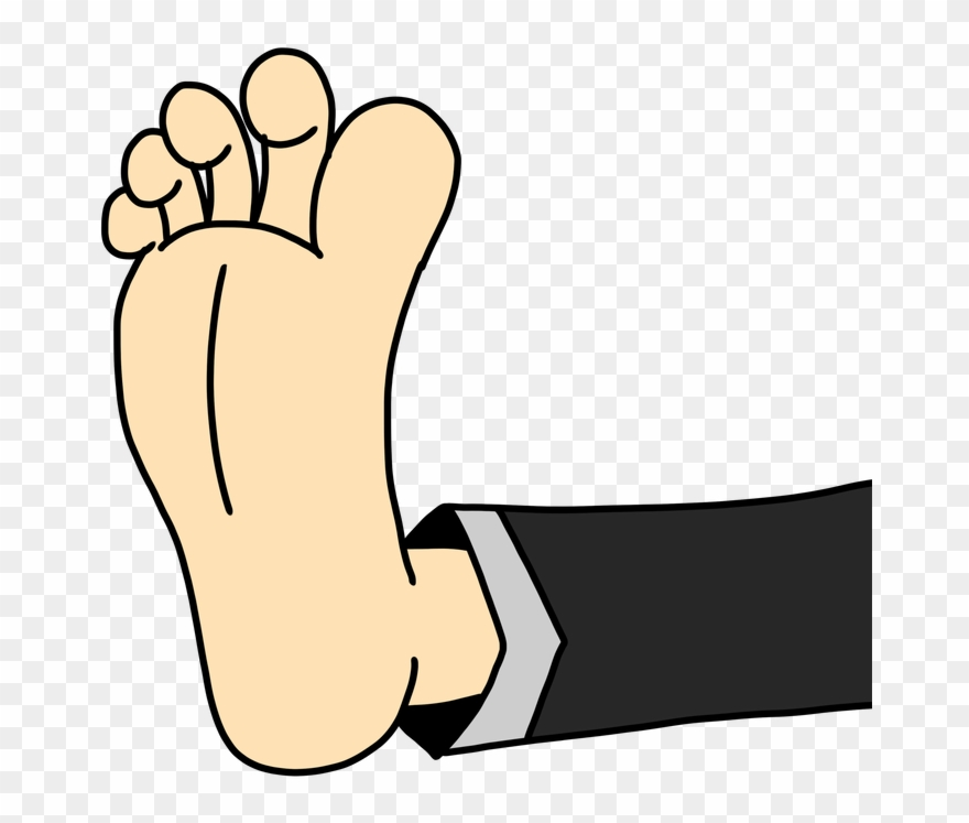 Bare Clipart Foot Up.