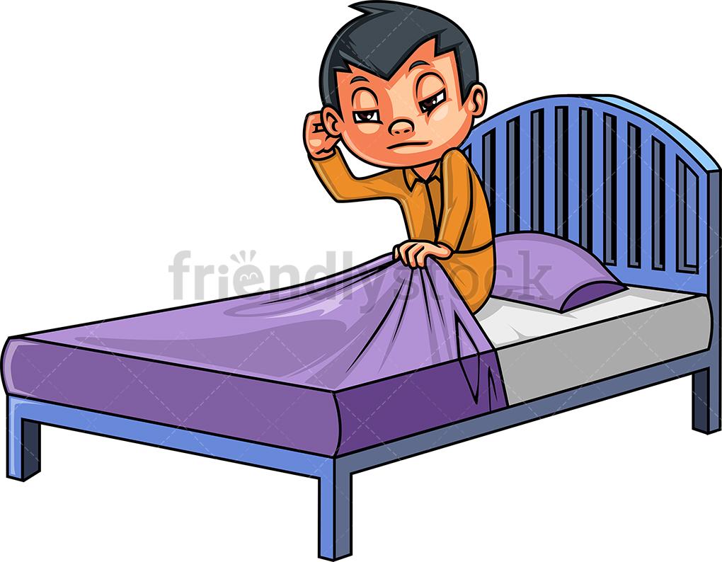 Child Waking Up.