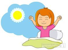 Waking up early clipart 1 » Clipart Portal.