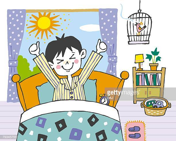 60 Top Waking Up Stock Illustrations, Clip art, Cartoons, & Icons.