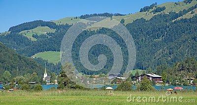 Koessen,Tirol,Austria Stock Photography.