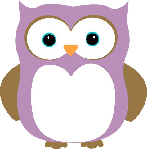 Purple and Brown Owl.
