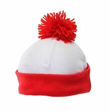 elope Waldo Beanie Red One Size Headwear.