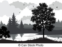 Coniferous Stock Illustration Images. 5,067 Coniferous.