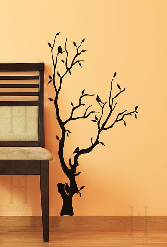 Vinyl wall decals, Wall decals and Home decor on Pinterest.