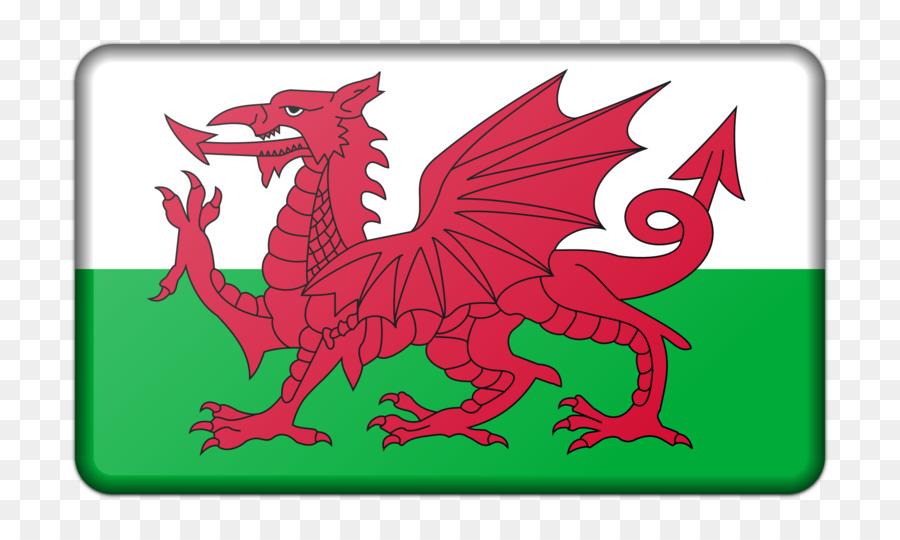 Welsh Dragon clipart.