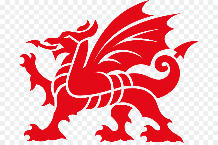 Welsh Dragon png download.