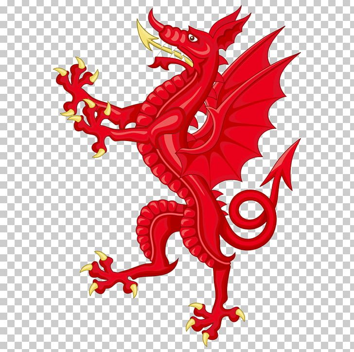 Wales Coat Of Arms Welsh Dragon Supporter PNG, Clipart, Animal.