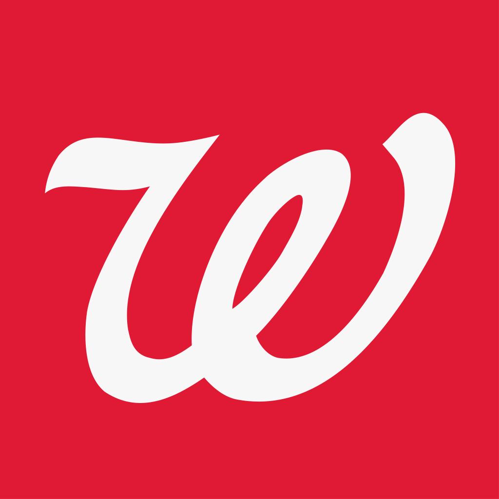 Walgreens app Logos.