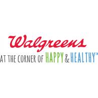 Walgreens Font Vector.