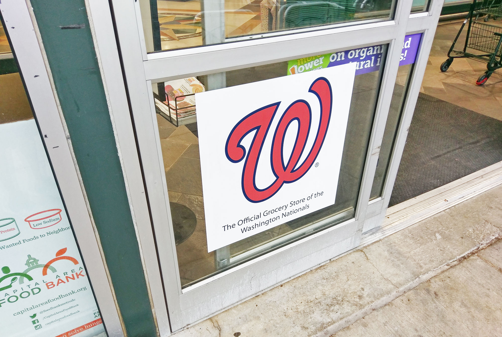 Walgreens or Nationals? Confusion on the D.C. subway..
