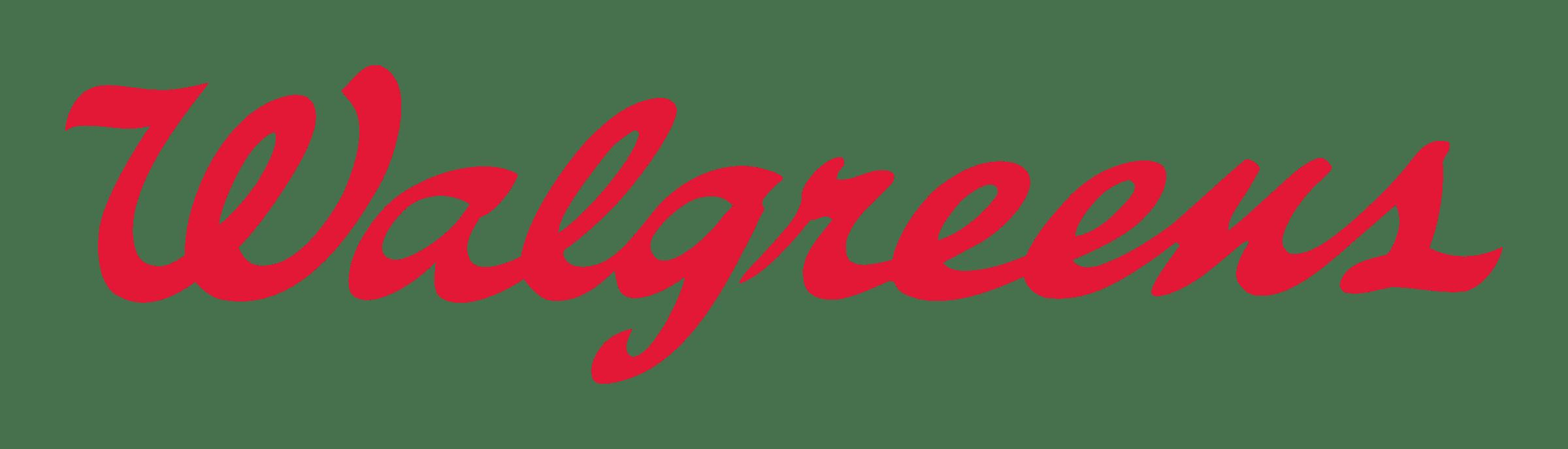Walgreens Logo transparent PNG.