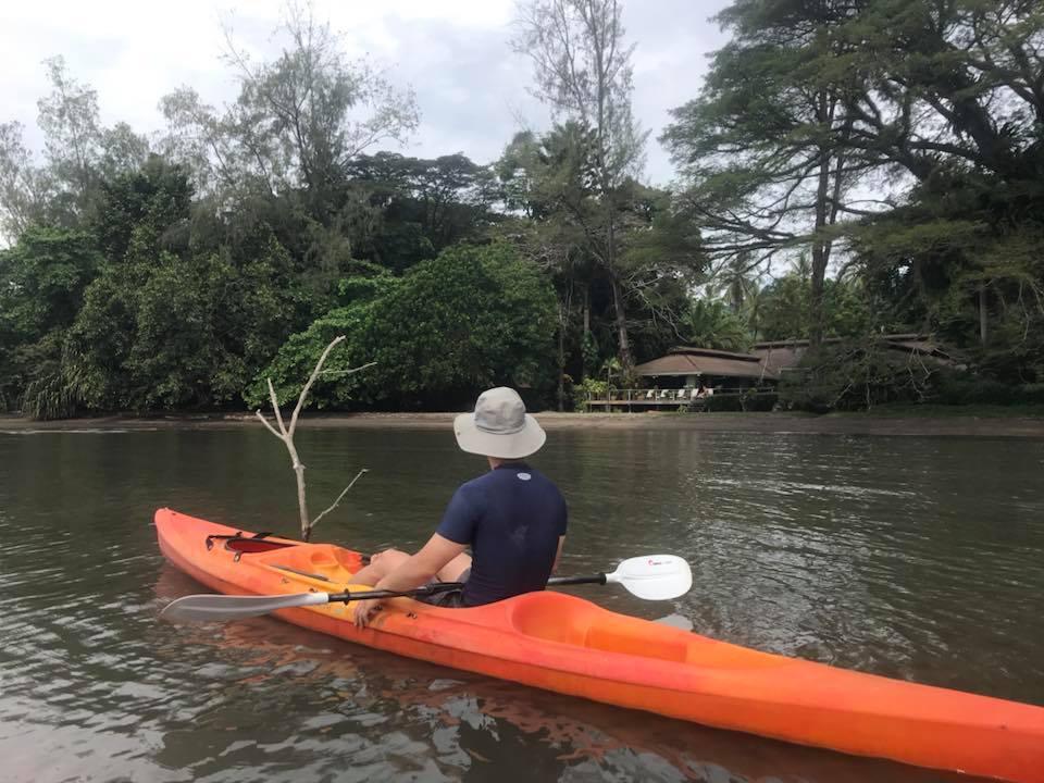 Papua New Guinea: Kayaking at Walindi Plantation Resort.