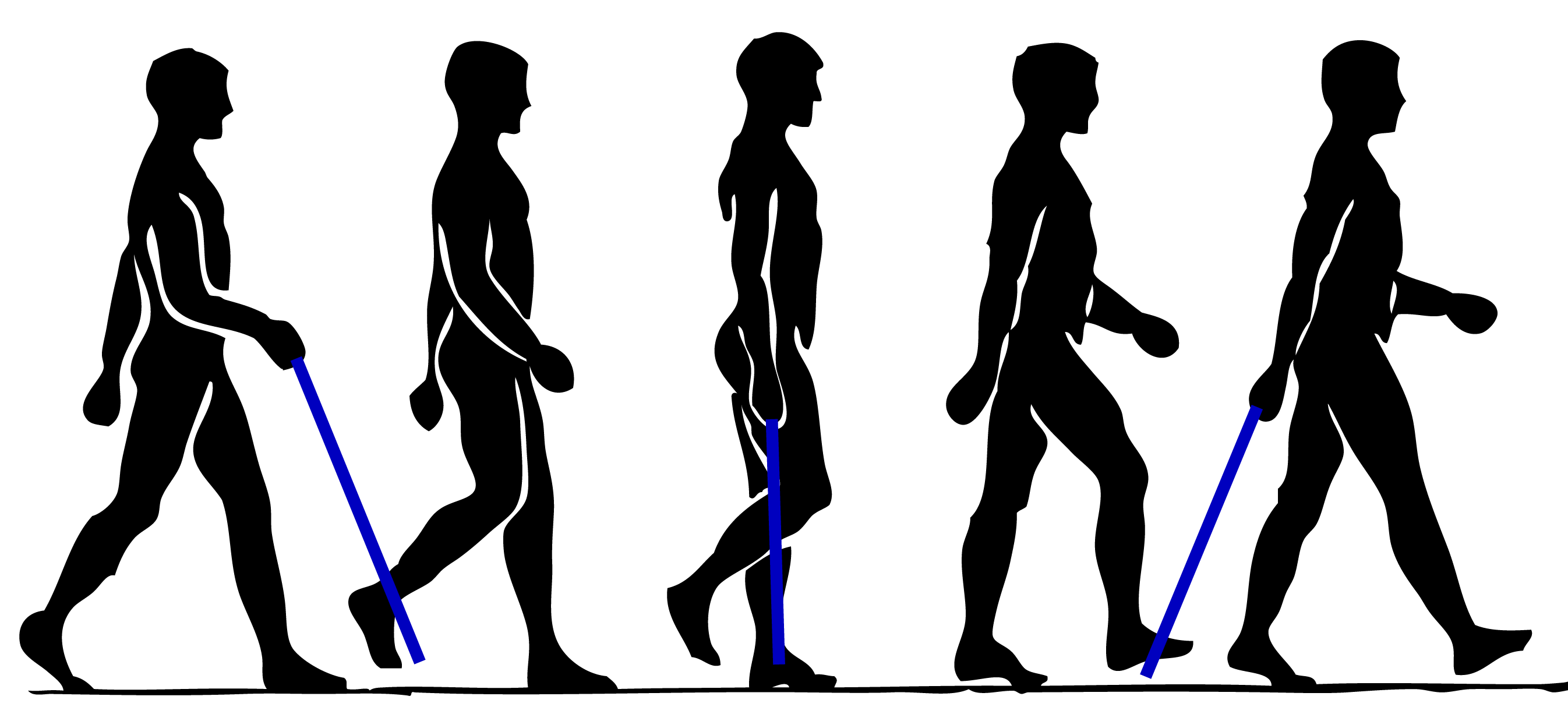 Walking Person Clip art.