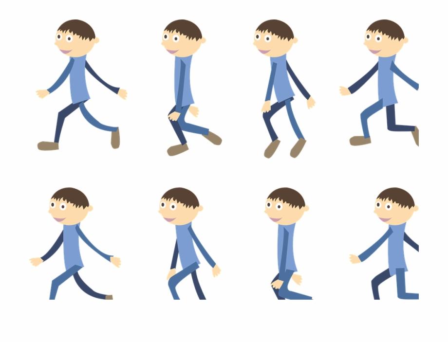 Cartoons People Group Boy Walk Cartoon Free Ⓒ.
