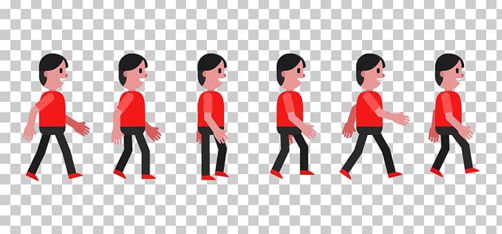 Walk Cycle Walking Animation Euclidean PNG, Clipart, Black Pan, Free.