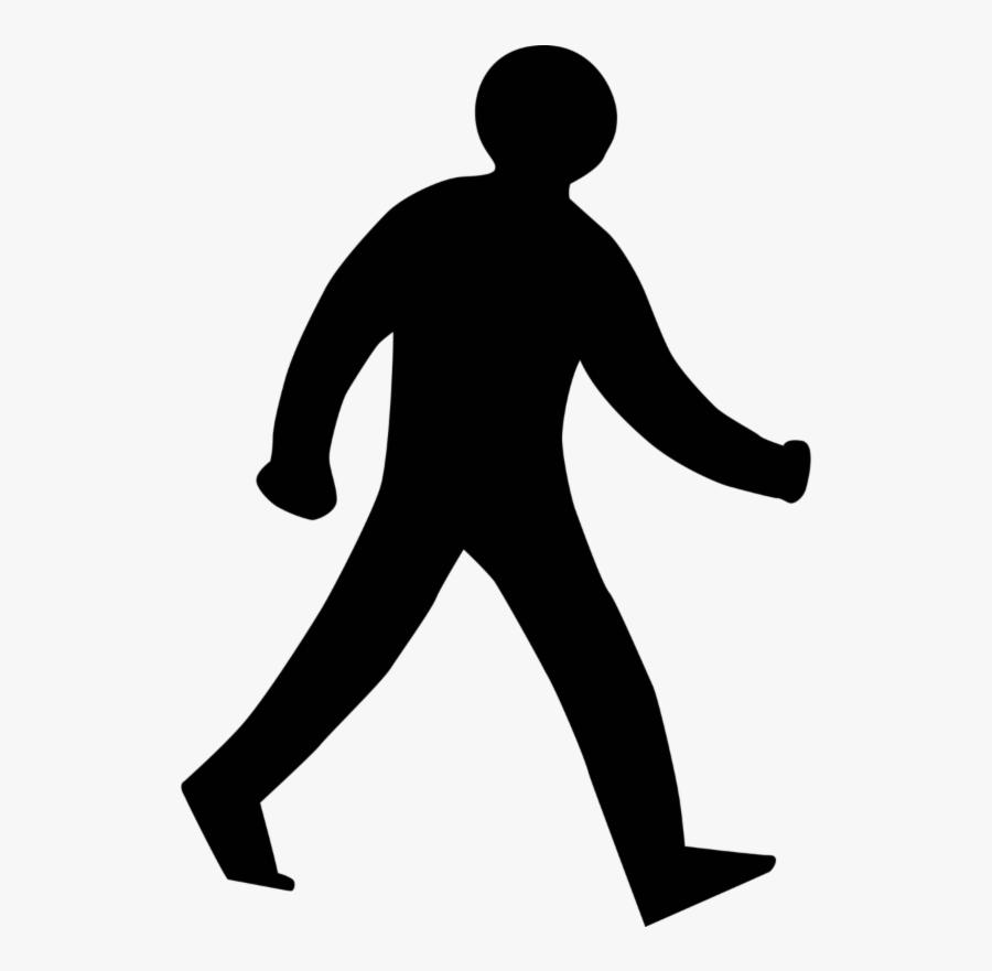 Walk Don T Run Sign , Free Transparent Clipart.