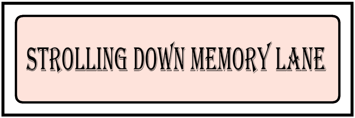 Quotes about Going down memory lane (13 quotes).