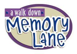 memory lane sign.