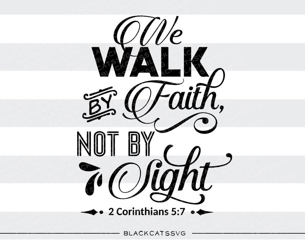 Walk By Faith Clipart.