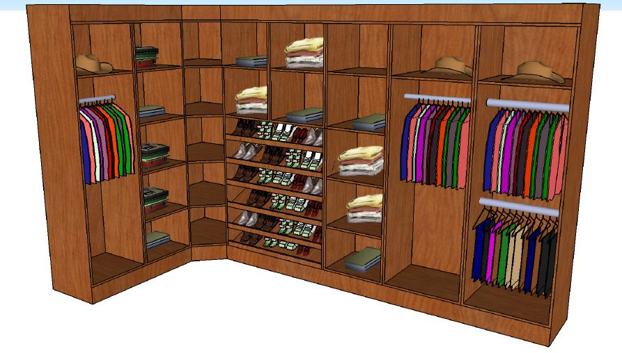 Walk In Closet Layout Ideas ~ photho for ..