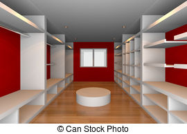 Walk in closet Clipart and Stock Illustrations. 68 Walk in closet.