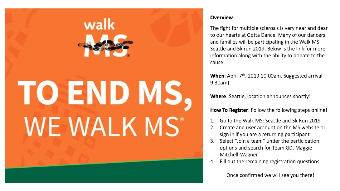 Walk to Support MS!.