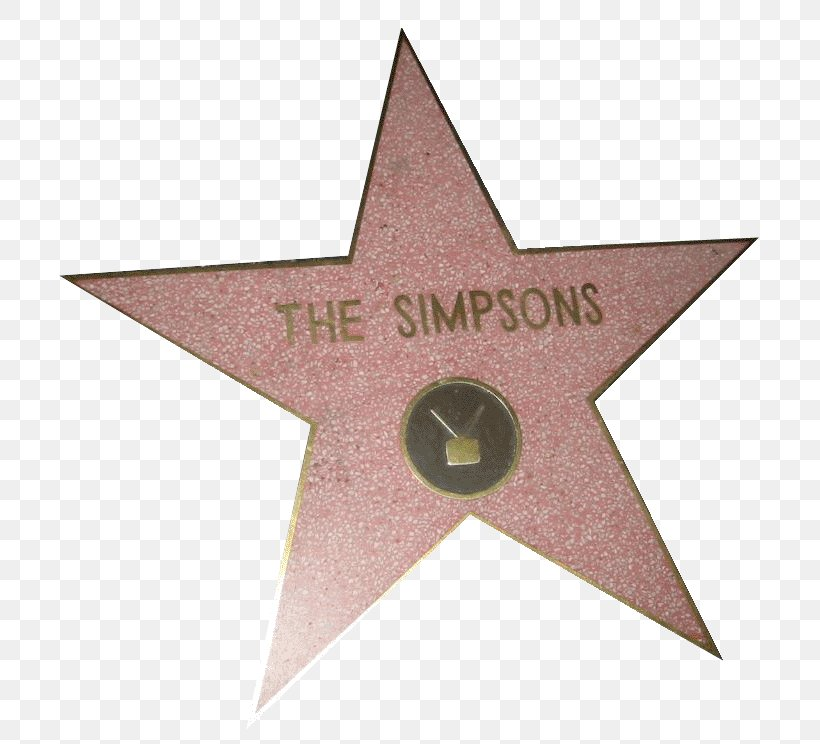 Hollywood Walk Of Fame Star Clip Art, PNG, 769x744px.