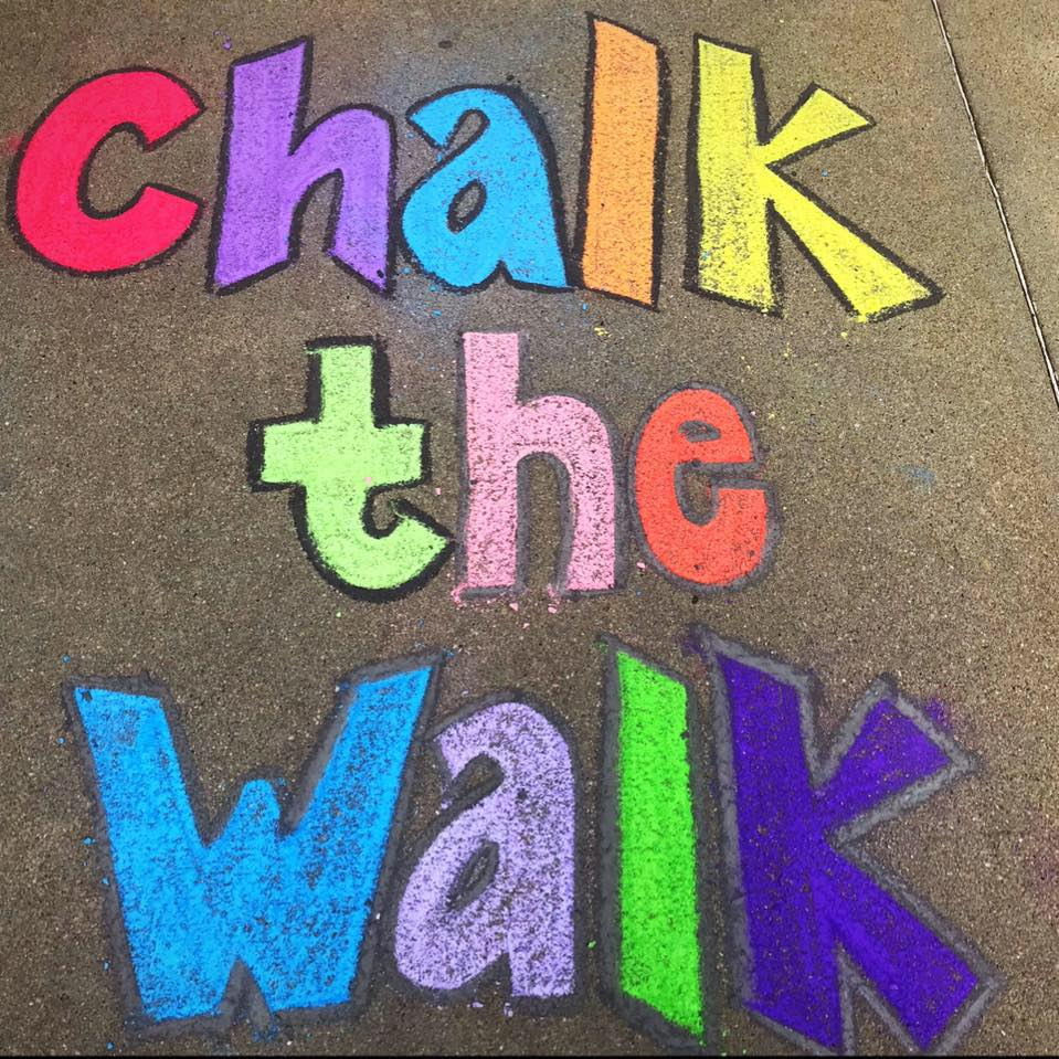 Chalk the Walk & Welcome to Williams Gathering.