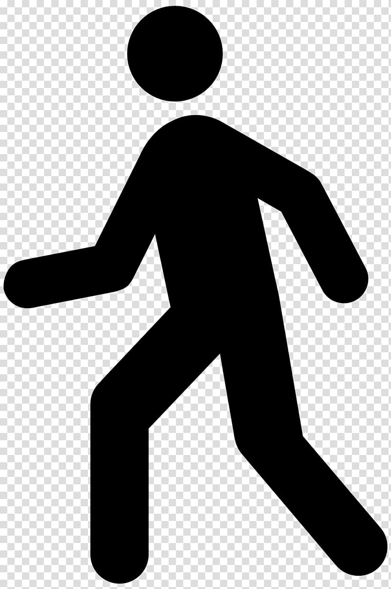 Computer Icons Walking , symbol transparent background PNG.