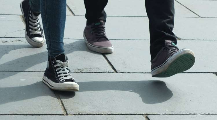 Why we walk on our heels instead of our toes.