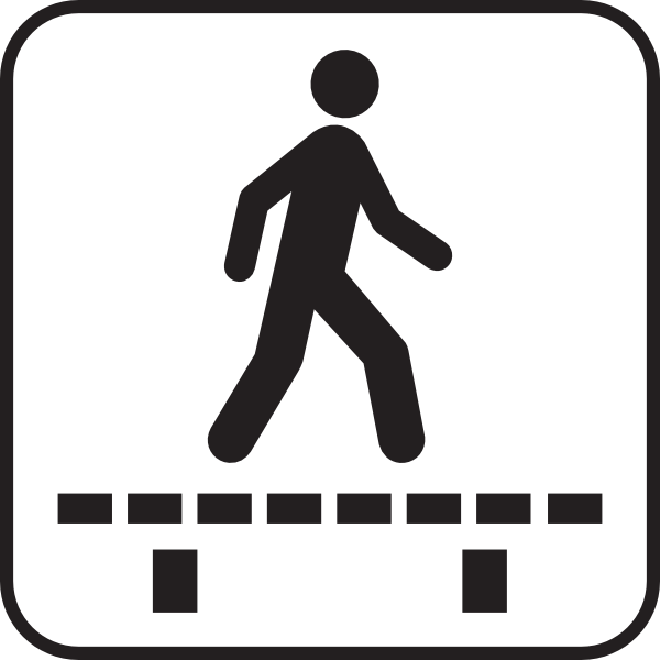 Walk Sign Clip Art at Clker.com.