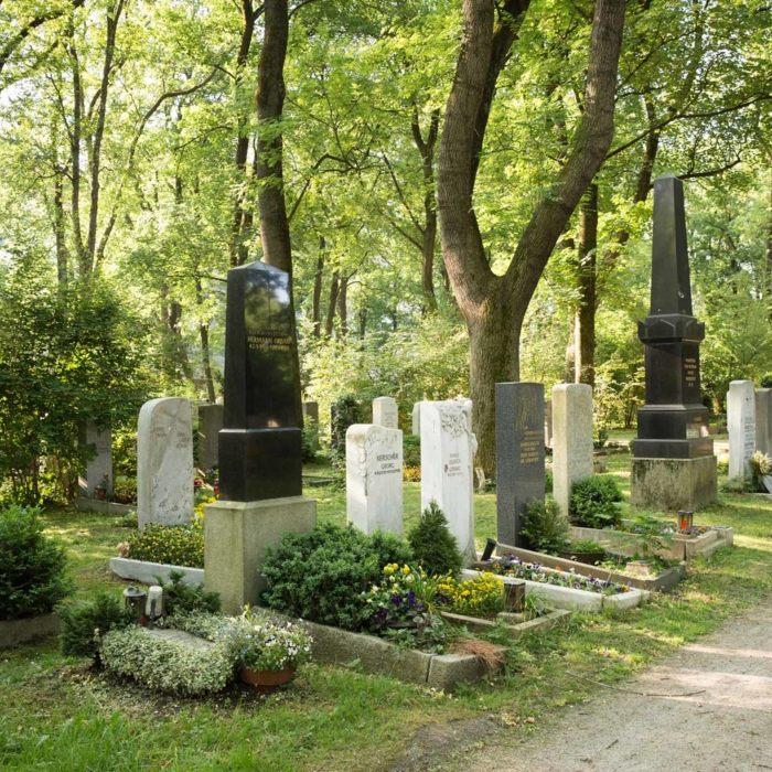 Cemeteries.