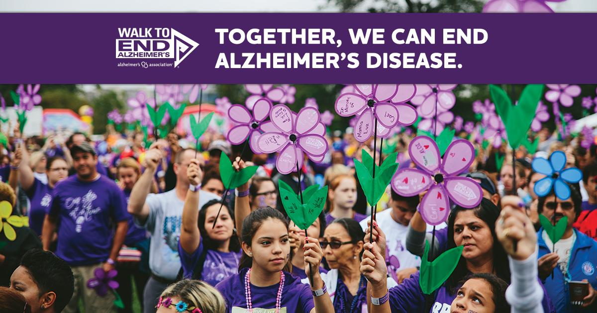2019 Walk to End Alzheimer\'s.