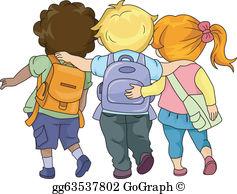 Walking To School Clip Art.