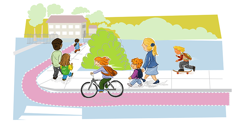 Bike to School Day and Walk to School Day.