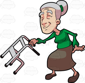 Animated Walker Clipart.