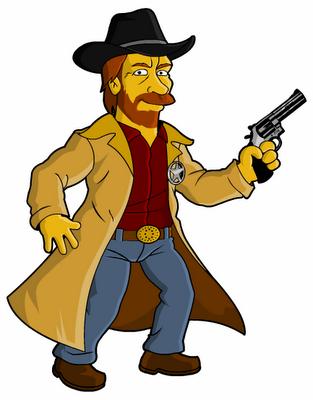 Chuck Norris (Walker Texas Ranger).